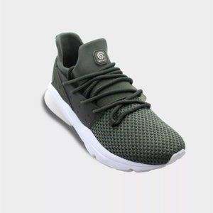 C9 CHAMPION Storm Knit Olive Green Sneakers 8.5